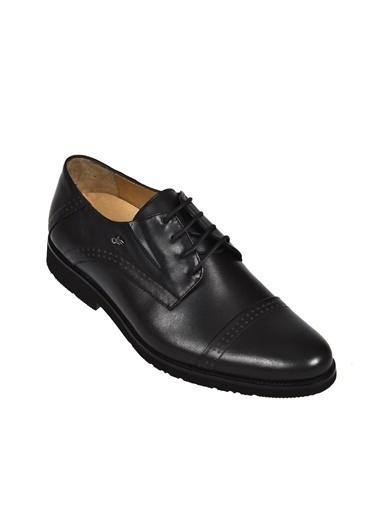 Dr.Flexer 21402 HakıkıDerıErkek Comfort Büyük Numaralı Ayakkabı Sıyah Siyah